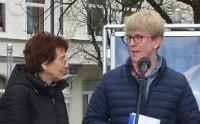 Gudrun Klöpper und Florian Wiese (DIE LINKE)